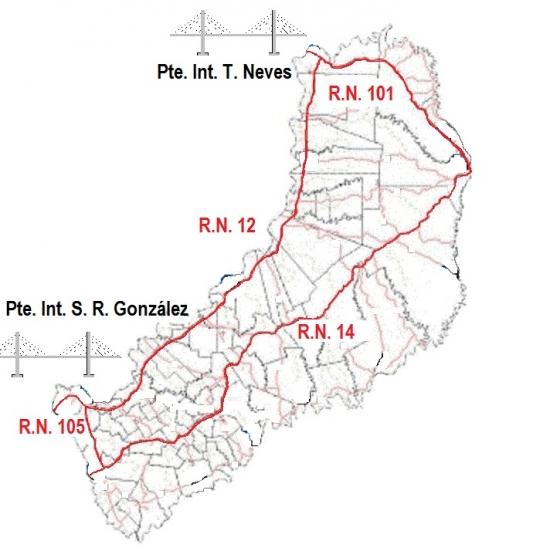 rutas nacionales, misiones, vialidad nacional