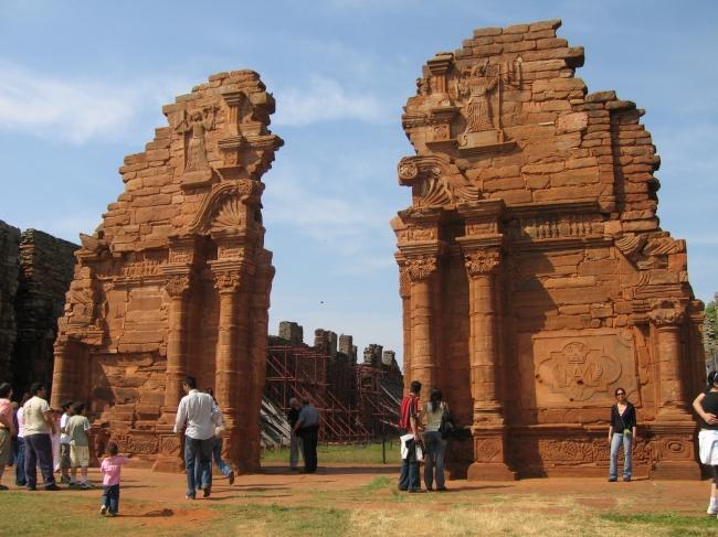 ruinas, san ignacio, misiones, jesuiticas